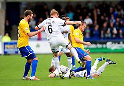 - Photo mandatory by-line: Neil Brookman/JMP - Mobile: 07966 386802 - 01/11/2014 - SPORT - Football - Telford - New Bucks Head Stadium - AFC Telford v Bristol Rovers - Vanarama Football Conference