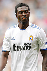 Real Madrid's Emanuel Adebayor during la Liga match on March 2nd 2011. EXPA Pictures © 2011, PhotoCredit: EXPA/ Alterphotos/ Cesar Cebolla +++++ ATTENTION - OUT OF SPAIN / ESP +++++