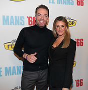2019. November 13. Pathe ArenA, the Netherlands. Robert Doornbos and Chantal Bles at the dutch premiere of Le Mans 66.