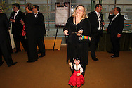 """Ellen McCloskey of the Dayton Opera Guild demonstrates one of the Opera Marionettes <br />during the Dayton Performing Arts Alliance Inaugural Gala at the Schuster Center in downtown Dayton, Saturday, October 5, 2013.  The Guild volunteers run """"marionette shows with opera themes for the education and enjoyment of preschool, kindergarten, first and second grade students."""""""