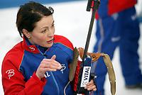 Biathlon, 09. december 2004, World Cup, Liv Grete Skjelbreid Poiree , Norge