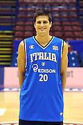 12-03-2011 MILANO ALL STAR GAME 2011 NAZIONALE ITALIANA<br /> IN FOTO: ANDREA CINCIARINI<br /> FOTO CIAMILLO