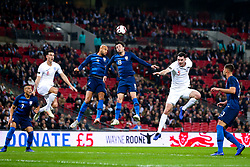 Michael Keane of England and Lewis Dunk of England challenges John Brooks of USA and Kenny Saief of USA - Mandatory by-line: Robbie Stephenson/JMP - 15/11/2018 - FOOTBALL - Wembley Stadium - London, England - England v United States of America - International Friendly
