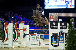 Delaveau Patrice, (FRA), Lacrimoso 3 Hdc <br /> Anemone Horse Truck Grote Prijs van Amsterdam powered by Stoeterij Sterrehof<br /> Jumping Amsterdam 2017<br /> © Hippo Foto - Leanjo de Koster<br /> 29/01/2017