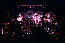 Drums with Babatunde Olatunji. The Grateful Dead live in concert at the Nassau Coliseum, Uniondale NY, 4 April 1993.