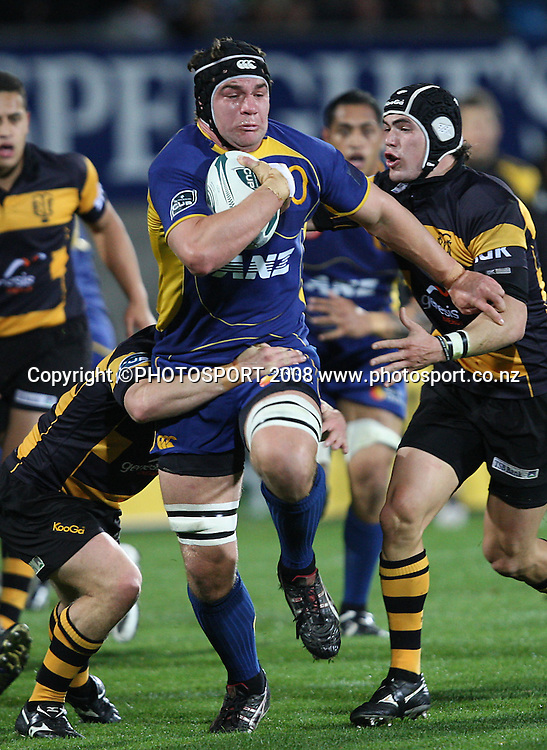 Ross Kennedy.<br /> Air NZ Cup, Otago v Taranaki, Carisbrook, Dunedin, Friday 19 September 2008. Photo: Rob Jefferies/PHOTOSPORT