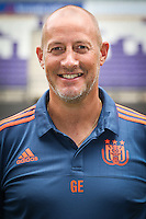 Anderlecht's assistant coach Geert Emmerechts pictured during the 2015-2016 season photo shoot of Belgian first league soccer team RSC Anderlecht, Tuesday 14 July 2015 in Brussels.