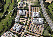 aerial photograph of  Northampton Business Park. Northampton Northamptonshire  England UK