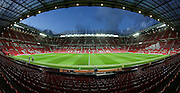 Inside Old Trafford before the Barclays Premier League match between Manchester United and Stoke City at Old Trafford, Manchester, England on 2 February 2016. Photo by Phil Duncan.