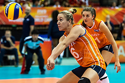 07-10-2018 JPN: World Championship Volleyball Women day 8, Nagoya<br /> Netherlands - Puerto Rico 3-0 / Maret Balkestein-Grothues #6 of Netherlands
