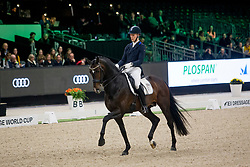 Bachmann Andersen Daniel, DEN, Blue Hors Zack<br /> FEI Dressage World Cup™ Grand Prix presented by RS2 Dressage - The Dutch Masters<br /> © Hippo Foto - Sharon Vandeput<br /> 14/03/19
