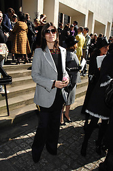 BELLA FREUD at the memorial service of Isabella Blow held at the Guards Chapel, London W1 on 18th September 2007.<br /><br />NON EXCLUSIVE - WORLD RIGHTS