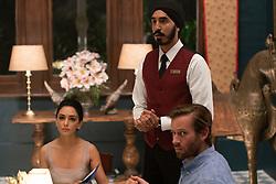 "Nazanin Boniadi as ""Zahra"", Dev Patel stars as ""Arjun"", Armie Hammer as ""David"""