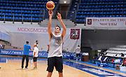 DESCRIZIONE : Qualificazioni EuroBasket 2015 - Allenamento <br /> GIOCATORE : Andrea Cinciarini<br /> CATEGORIA : nazionale maschile senior A <br /> GARA : Qualificazioni EuroBasket 2015 viaggio - Allenamento<br /> DATA : 11/08/2014 <br /> AUTORE : Agenzia Ciamillo-Castoria