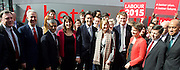 Ed Miliband <br /> Launches Labour's election campaign 2015 at The Orbit, Olympic Park, Stratford, London, Great Britain <br /> 27th March 2015 <br /> <br /> Ed Miliband &amp; The Shadow Cabinet <br /> <br /> <br /> <br /> Photograph by Elliott Franks <br /> Image licensed to Elliott Franks Photography Services