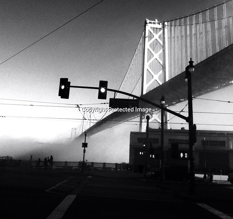 san Francisco with an iPhone 5