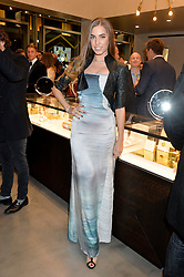 AMBER LE BON at a party to celebrate the launch of the Monica Vinader London Flagship store at 71-72 Duke of York Square, London SW3 on 4th December 2014.