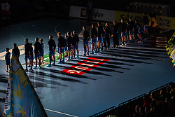 Handball match between RK Celje Pivovarna Lasko (SLO) and SG Flensburg Handewitt (GER) in 3rd Round of EHF Men's Champions League 2018/19, on September 30, 2018 in Arena Zlatorog, Celje, Slovenia. Photo by Grega Valancic / Sportida