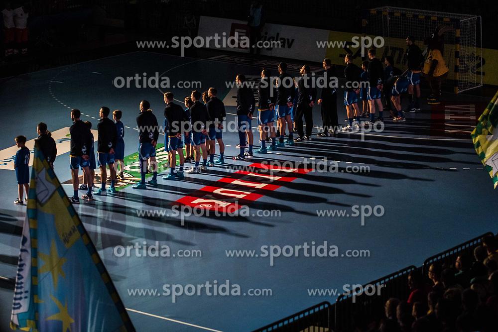 Handball match between RK Celje Pivovarna Lasko (SLO) and SG Flensburg Handewitt (GER) in 3rd Round of EHF Men's Champions League 2018/19, on September 30, 2018 in Arena Zlatorog, Celje, Slovenia. Photo by Grega Valancic / Sportida
