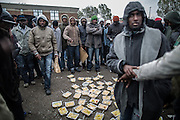 Migrants refusing food, the quility is to low they say