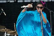 Bomba Estereo, live performance in Coachella