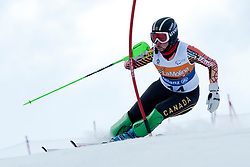 STARKER Alexandra, CAN, Slalom, 2013 IPC Alpine Skiing World Championships, La Molina, Spain
