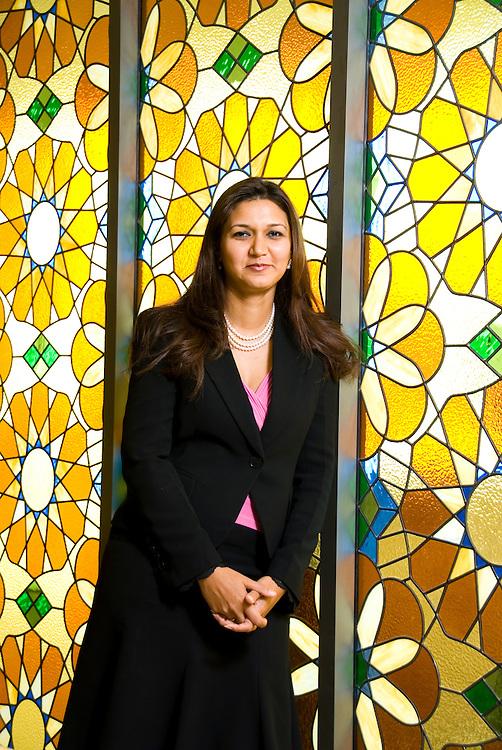 Jayshree Gupta, Managing Partner (Dubai) DLA Piper Rudnick Gray Cary, Dubai, United Arab Emirates on August 17, 2006..By Siddharth Siva