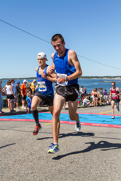 41st Falmouth Road Race: Robert DeLeo, Nathaniel Webber