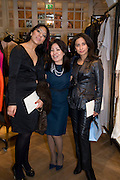 Sybil Stanislaus, The Launch of the Lanvin store on Mount St. Presentation and cocktails.  London. 26 March 2009