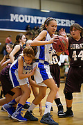 January 08, 2015.  <br /> Wetsel Middle School Girls Basketball vs Luray.