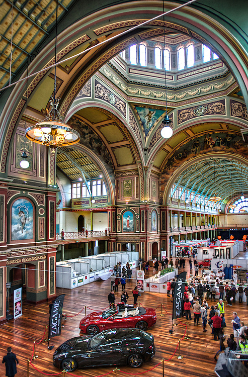 La Dolce Italia at the Melbourne Exhibition Buildings. Pic By Craig Sillitoe CSZ / The Sunday Age.11/08/2012 melbourne photographers, commercial photographers, industrial photographers, corporate photographer, architectural photographers, This photograph can be used for non commercial uses with attribution. Credit: Craig Sillitoe Photography / http://www.csillitoe.com<br />