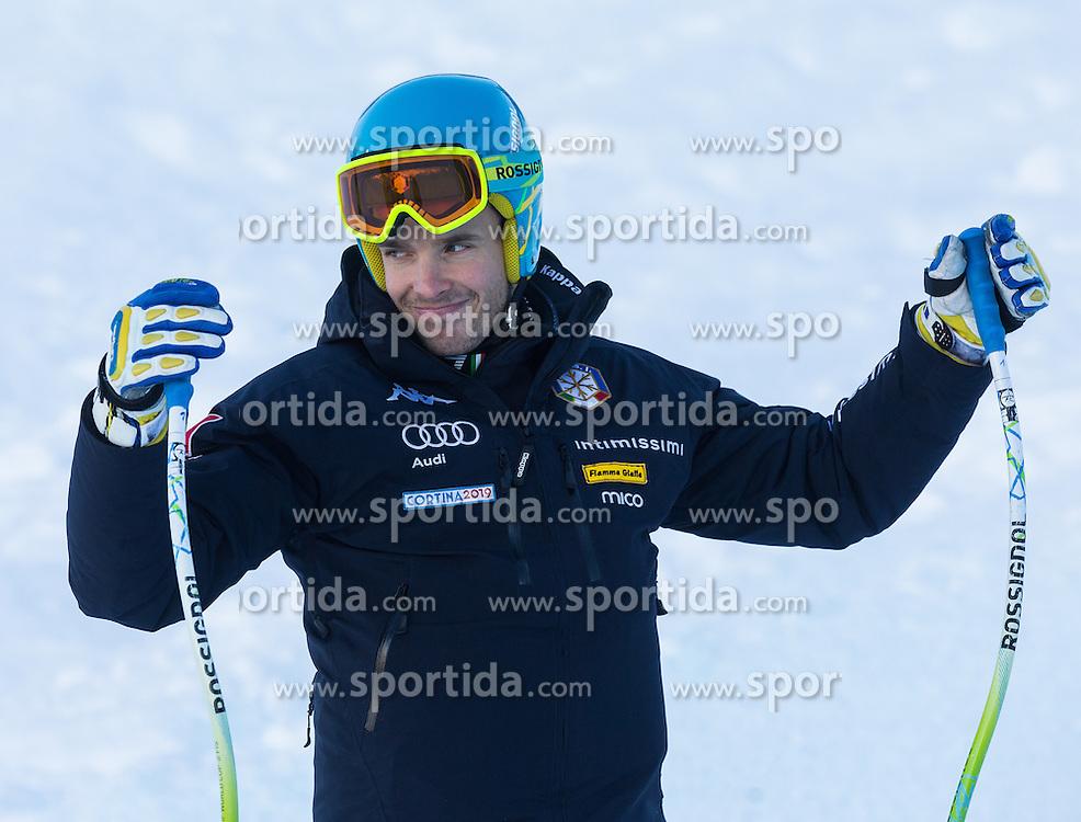 28.12.2013, Stelvio, Bormio, ITA, FIS Ski Weltcup, Bormio, Abfahrt, Herren, 2. Traininglauf, Streckenbesichtigung, im Bild Christof Innerhofer (ITA) // Christof Innerhofer of Italy during the course inspection of mens 2nd downhill practice of the Bormio FIS Ski Alpine World Cup at the Stelvio Course in Bormio, Italy on 2012/12/28. EXPA Pictures © 2013, PhotoCredit: EXPA/ Johann Groder