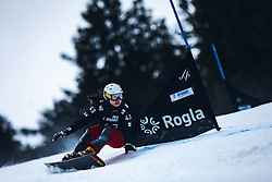 JEONG Haerim (KOR) during FIS alpine snowboard world cup 2019/20 on 18th of January on Rogla Slovenia<br /> Photo by Matic Ritonja / Sportida
