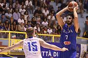 Luca Vitali<br /> Nazionale Italiana Maschile Senior<br /> Amichevole Italia -Finlandia Italy - Finland<br /> FIP 2017<br /> Cagliari, 09/08/2017<br /> Foto R. Morgano / Ciamillo-Castoria