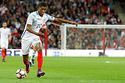England Forward Marcus Rashford during the FIFA World Cup Qualifier match between England and Malta at Wembley Stadium, London, England on 8 October 2016. Photo by Andy Walter.