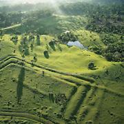 Geoglyphes du Tequinho un des plus complexes des 300 géoglyphes découvert récemment dans l'Acre.   Geoglifo do Tequinho um das mais complexe dos 300 geoglifos descubertos recientemente no Acre.