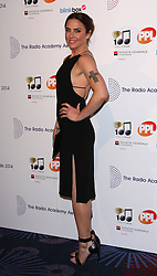 MELANIE C arrives for the Radio Academy Awards, London, United Kingdom. Monday, 12th May 2014. Picture by i-Images