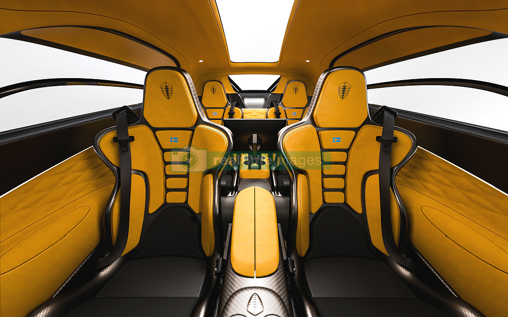 """Meet the $1.7 million hypercar - that has room for the kids. <br /> <br /> The Koenigsegg Gemera, unveiled Tuesday (3 Mar), is described as """"the world's first Mega-GT"""" and is the Swedish company's first four-seater. <br /> <br /> Limited in an edition of 300 cars and recommended for """"family trips"""", the Gemera is announced as """"an extreme megacar that meets spacious interior and ultimate environmental consciousness."""" <br /> <br /> """"Ultimate performance has belonged to the world of two-seaters with very limited luggage space – until now"""", says CEO and founder Christian von Koenigsegg. """"The Gemera is a completely new category of car where extreme megacar meets spacious interior and ultimate environmental consciousness. We call it a Mega-GT."""" <br /> <br /> The car seats four large adults comfortably with space catering to their carry-on luggage, meaning the Koenigsegg megacar experience can be shared with family and friends. <br /> <br /> Despite being a four-seater, the Gemera easily outperforms most two-seat megacars, both combustion and electric. Still, the focus of the Gemera is taking on long-range public roads – family trips, in comfort, style and safety with never-before-experienced performance.  <br /> <br /> With its 1.27 megawatts of power and 3500 Nm of torque, the Gemera goes from 0 to 100 km/h in 1.9 seconds and to 400 km/h in record matching pace. <br /> <br /> The Gemera comes with an evocative and deep-throated growl from its large displacement Freevalve 3-cylinder engine.<br /> <br /> MORE COPY: info@cover-images.com<br /> <br /> When: 24 Feb 2020<br /> Credit: Koenigsegg/Cover Images<br /> <br /> **Editorial use only**"""