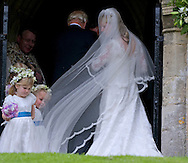 """EMILY MCCORQUODALE.arrives for her wedding to James Hutt at  the Church of St Andrew & St Mary, Stoke Rochford, Lincolnshire.Emily is the daughter of Princess Diana' sister Sarah McCorquodale_09/06/2012.Mandatory Credit Photo: ©NEWSPIX INTERNATIONAL..**ALL FEES PAYABLE TO: """"NEWSPIX INTERNATIONAL""""**..IMMEDIATE CONFIRMATION OF USAGE REQUIRED:.Newspix International, 31 Chinnery Hill, Bishop's Stortford, ENGLAND CM23 3PS.Tel:+441279 324672  ; Fax: +441279656877.Mobile:  07775681153.e-mail: info@newspixinternational.co.uk"""
