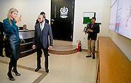 Queen Maxima of the Netherlands  Meeting with the President of the National Database and Registration Authority (NADRA) Mr. Usmany. Mobin, Chairman NADRA  in islamabad on 11 february 2016 .. Queen Maxima is in Pakistan as United Nations Secretary-General&rsquo;s Special Advocate for Inclusive Finance for Development to promote and support financial services in development countries. copyright robin utrecht<br /> ISLAMABAD - Koningin Maxima heeft in Islamabad een ontmoeting met de voorzitter van de National Database and Registration Authority (NADRA) Usmany Y. Mobin. Maxima brengt een driedaags bezoek aan het Aziatische land als speciaal pleitbezorger van de VN op het gebied van inclusieve financiering voor ontwikkeling.