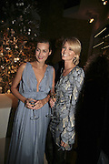 Yasmin le Bon and Malin Johansson, THE CHRISTMAS PARTY CELEBRATING THE 225TH ANNIVERSARY OF ASPREY. 167 NEW BOND ST. LONDON W1. 7 DECEMBER 2006. ONE TIME USE ONLY - DO NOT ARCHIVE  © Copyright Photograph by Dafydd Jones 248 CLAPHAM PARK RD. LONDON SW90PZ.  Tel 020 7733 0108 www.dafjones.com