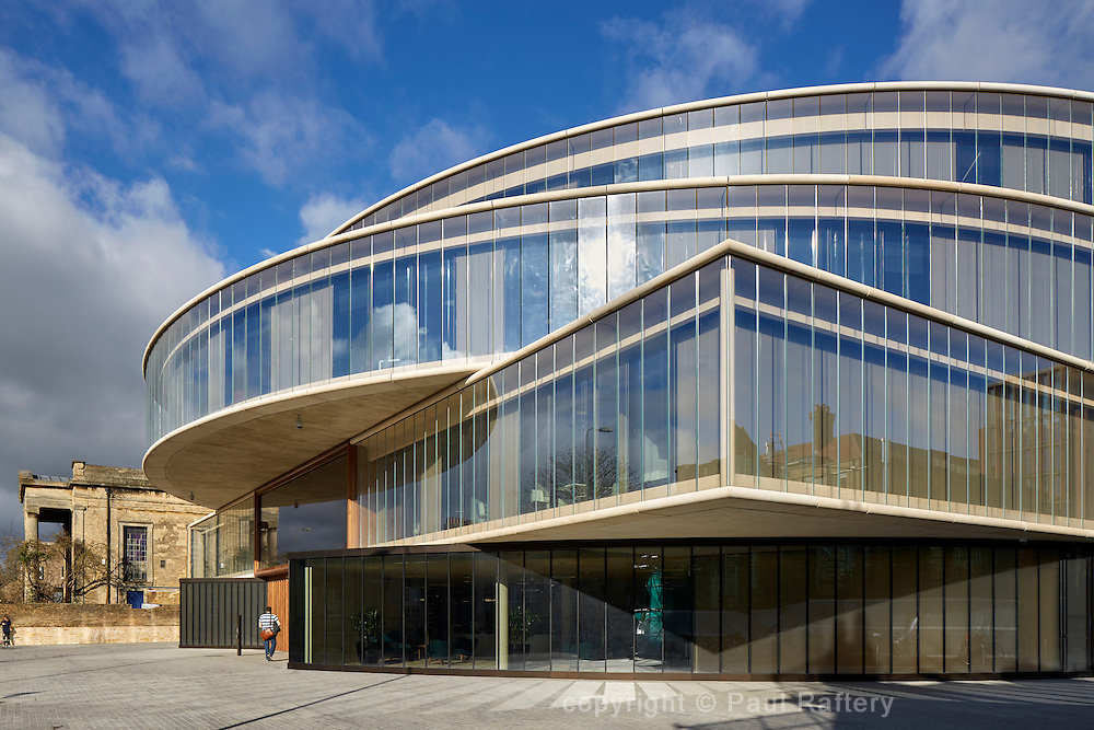 Blavatnik School of Government, Oxford University. Architects Herzog + d'Meuron