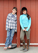 Lifestyle portraits of twins at Twin  Lakes Farms,  25 Best