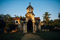 Jaffna, Sri Lanka -- February 9, 2018: The ruins of the old minister's residence, also known as the Mantri Manai.