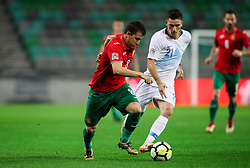 Todor Nedelev of Bulgaria vs Benjamin Verbic of Slovenia during football match between National Teams of Slovenia and Bulgaria in Final Tournament of UEFA Nations League 2019, on September 6, 2018 in SRC Stozice, Ljubljana, Slovenia. Photo by Morgan Kristan / Sportida