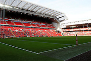 during the Ladbrokes Four Nations match between Australia and New Zealand at Anfield, Liverpool, England on 20 November 2016. Photo by Craig Galloway.