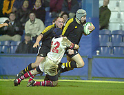 London. Great Britain,  during the Heineken Cup. London Wasps v Ulster Match, played at Loftus Road, West London. 06/01/2002.  [Mandatory Credit;  Peter Spurrier/Intersport Images]..