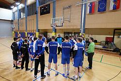 Players at practice session of handball team Slovenia before the match against Germany, on May 01, 2017 in Vojasnica Edvarda Peperka, Ljubljana, Slovenia. Photo by Matic Klansek Velej / Sportida