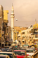 Minaret, Al Husseini Mosque, Amman, Jordan.