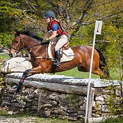 Sandra Andresen and Illusion at Checkmate Horse Trials in Feversham, Ontario.
